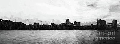 Shreveport Pano Print by Scott Pellegrin