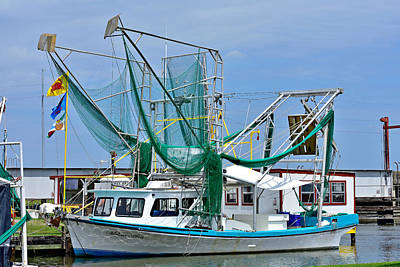 Photograph - Shrimp Boat,  by Robert Brown