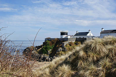 Photograph - Shrove Lighthouse, Greencastle, County Donegal by Colin Clarke