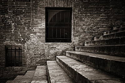 Photograph - Siena Building Closeup by Songquan Deng