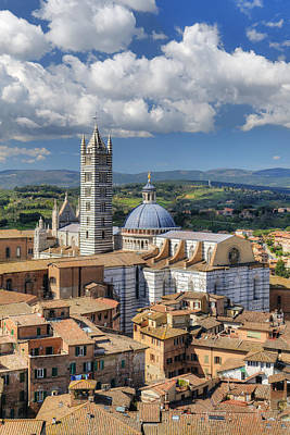 Photograph - Siena Cathedral by Mick House