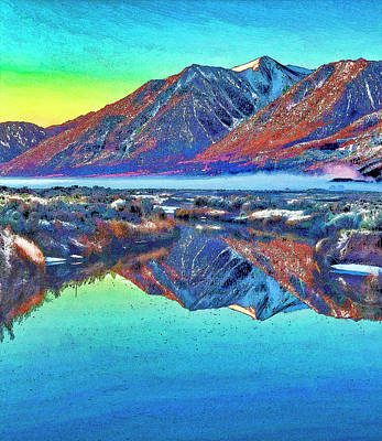 Photograph - Sierra Reflections by Nancy Marie Ricketts