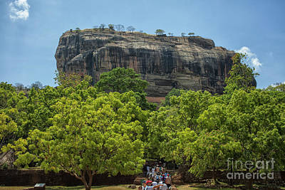 Photograph - Sigiriya Rock by Patricia Hofmeester