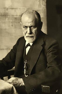 Photograph - Sigmund Freud by Janeb13