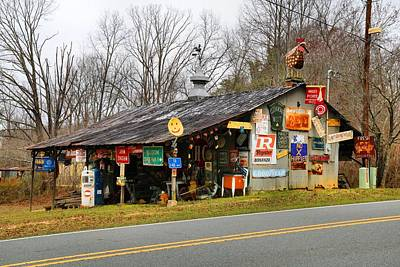 Photograph - Sign Shack by Kathryn Meyer