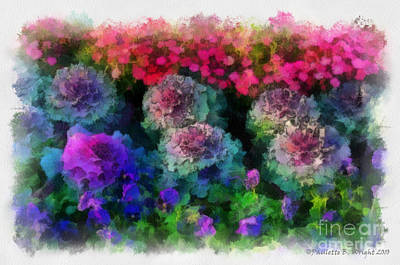 Painting - Signs Of Spring by Paulette B Wright