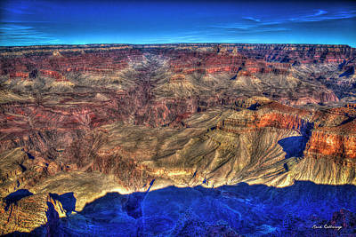 Photograph - Signs Of Wear 2 Grand Canyon National Park Arizona Art  by Reid Callaway