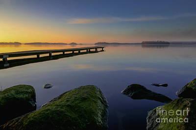 Silent Digital Art - Silence Lake by Franziskus Pfleghart