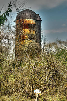 Photograph - Silo by Melissa Newcomb
