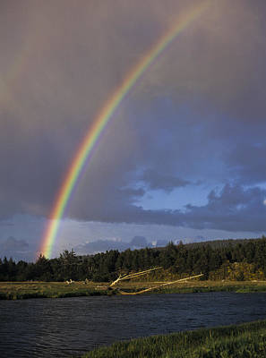 Photograph - Siltcoos River Rainbow by Robert Potts