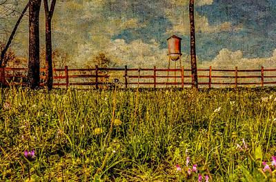 Siluria Cotton Mill Art Print by Phillip Burrow