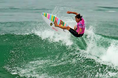 Photograph - Silvana Lima Surfer by Waterdancer