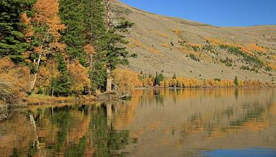 Photograph - Silver Lake Autumn by Sean Sarsfield
