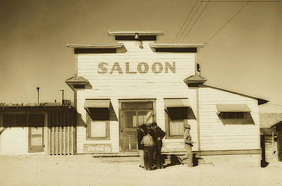 Photograph - Silver Peak, Nevada Saloon 1940 by Library Of Congress