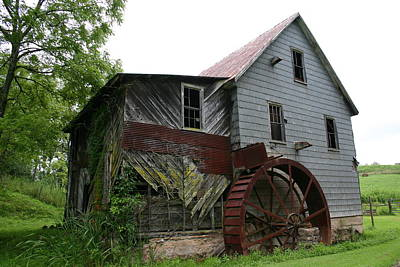 Photograph - Silverlake Mill by Annlynn Ward