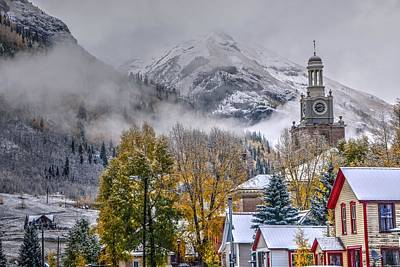 Photograph - Silverton Colorado by Charlotte Schafer