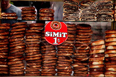 Photograph - 1 Simit by Jez C Self