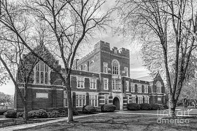 Photograph - Simpson College Hillman Hall by University Icons