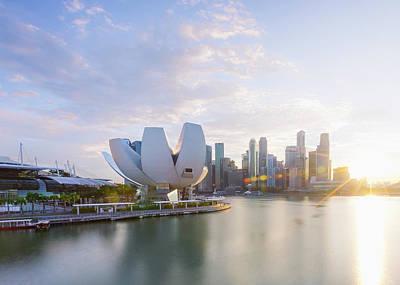 Photograph - Singapore by Evgeny Vasenev