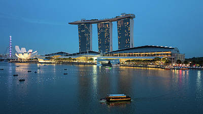 Photograph - Singapore Harbour by Jocelyn Kahawai