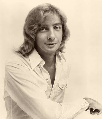 Barry Photograph - Singer Barry Manilow 1975 by Mountain Dreams
