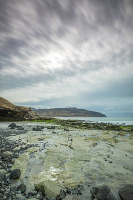 Photograph - Singing Sands, Eigg by Neil Alexander