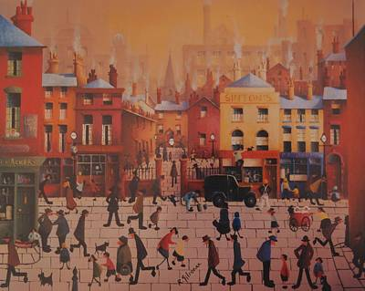 Ringo Painting - Sintons Liverpool by Joe Gilronan