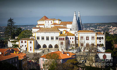 Iberian Photograph - Sintra National Palace by Carlos Caetano