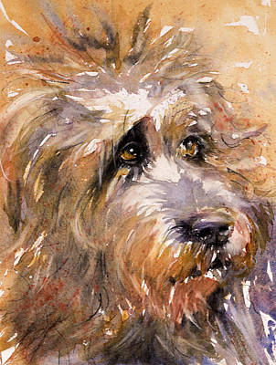 Painting - Sir Darby by Judith Levins