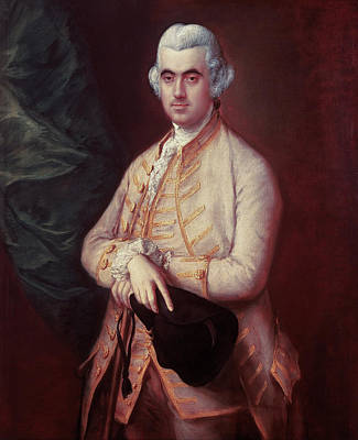 Male Painting - Sir Robert Clayton by Thomas Gainsborough