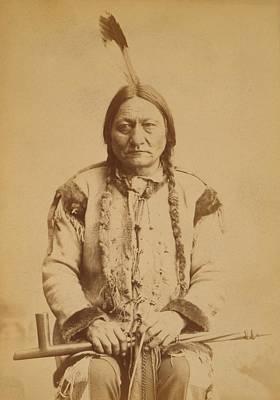 Sitting Bull 1831-1890, Lakota Sioux Art Print by Everett