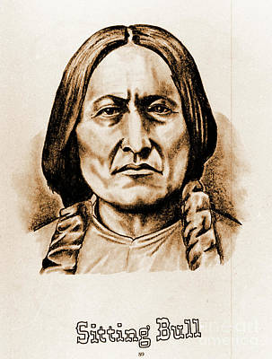 Photograph - Sitting Bull by Gary Wonning