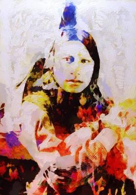 Painting - Sitting Bull by Lelia DeMello