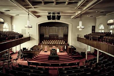 Photograph - Sixteenth Street Baptist Church - Birmingham Alabama by L O C