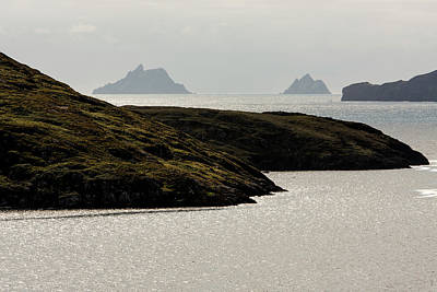 Photograph - Skellig Islands, County Kerry, Ireland by Aidan Moran