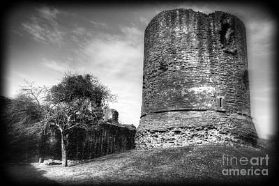 Photograph - Skenfrith Castle Great Tower by David Birchall