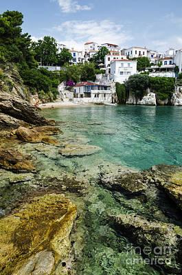 Postcard Photograph - Skiathos Island Greece by Jelena Jovanovic
