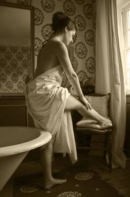 Leila Photograph - Skin Deep by Mark H Roberts
