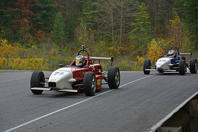 Photograph - Skip Barber Racing Series by Mike Martin