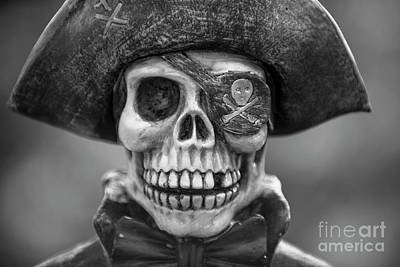 Photograph - Skull And Bones by Dale Powell