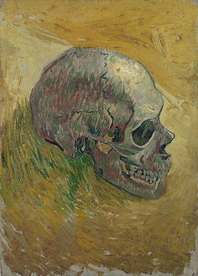 Other Painting - Skull by Vincent van Gogh