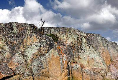 Photograph - Sky And Rocks 4 by Alex Galkin