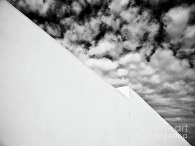 Photograph - Sky And Wall by Fei Alexander