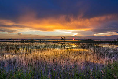Photograph - Sky Fire by Debra and Dave Vanderlaan