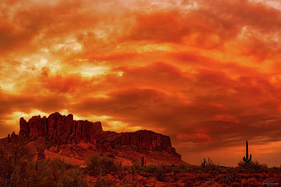 Photograph - Sky Fire by Rick Furmanek