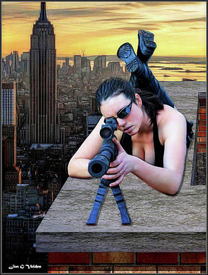 Photograph - Skyline Assassin  by Jon Volden