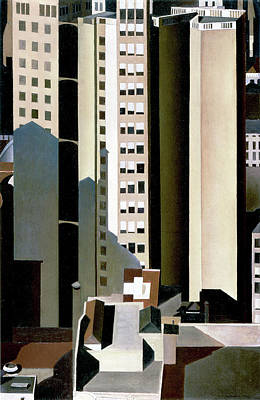 Photograph - Skyscraper by Charles Sheeler