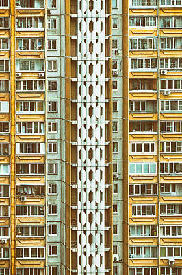 Abstract Patterns Photograph - Skyscraper by Stelios Kleanthous
