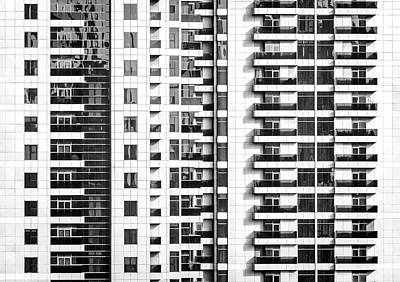 Photograph - Skyscraper Windows by Alexey Stiop
