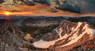 Photograph - Skytop Sunrise by Leland D Howard